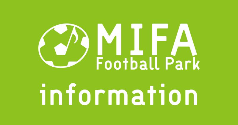 【「MIFA Weekend Free Park」中止期間延長について】